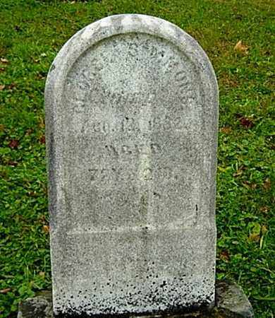 SIMMONS, GEORGE - Harrison County, Ohio | GEORGE SIMMONS - Ohio Gravestone Photos