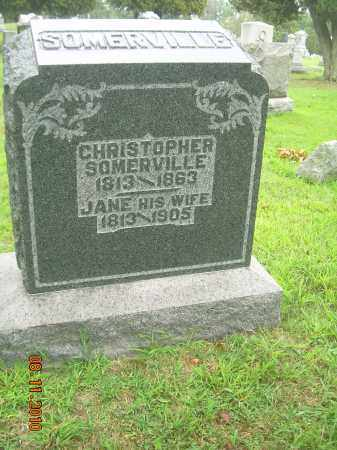 SOMERVILLE, CHRISTOPHER - Harrison County, Ohio | CHRISTOPHER SOMERVILLE - Ohio Gravestone Photos