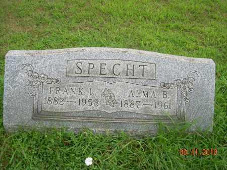 SPECHT, ALMA B - Harrison County, Ohio | ALMA B SPECHT - Ohio Gravestone Photos