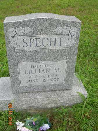 SPECHT, LILLIAN M - Harrison County, Ohio | LILLIAN M SPECHT - Ohio Gravestone Photos