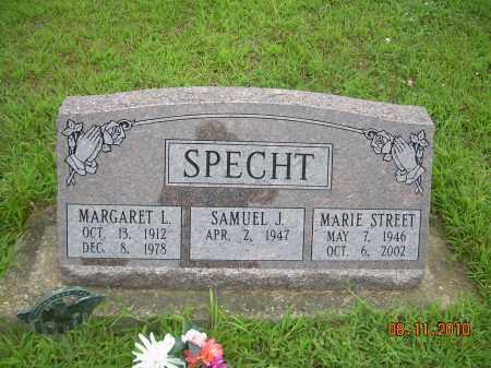 STREET SPECHT, MARIE - Harrison County, Ohio | MARIE STREET SPECHT - Ohio Gravestone Photos