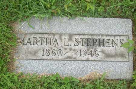 STEPHENS, MARTHA L - Harrison County, Ohio | MARTHA L STEPHENS - Ohio Gravestone Photos