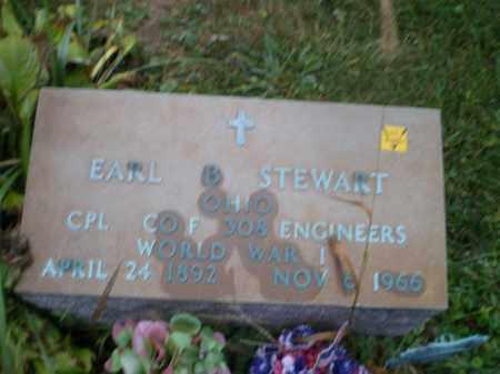 STEWART, EARL B - Harrison County, Ohio | EARL B STEWART - Ohio Gravestone Photos