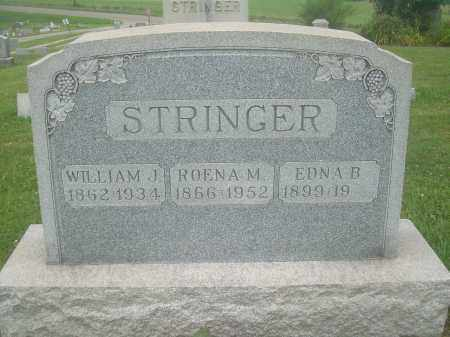 ALLISON STRINGER, ROENA M - Harrison County, Ohio | ROENA M ALLISON STRINGER - Ohio Gravestone Photos