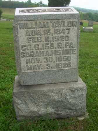 TAYLOR, WILLIAM - Harrison County, Ohio | WILLIAM TAYLOR - Ohio Gravestone Photos