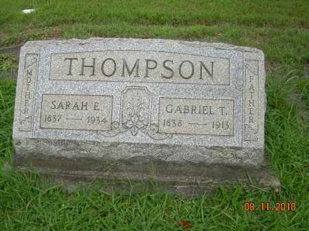 THOMPSON, SARAH E - Harrison County, Ohio | SARAH E THOMPSON - Ohio Gravestone Photos