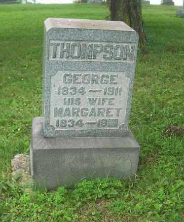 BUSBY THOMPSON, MARGARET - Harrison County, Ohio | MARGARET BUSBY THOMPSON - Ohio Gravestone Photos