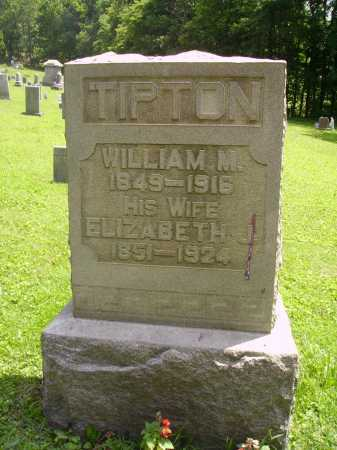 TIPTON, WILLIAM M. - Harrison County, Ohio | WILLIAM M. TIPTON - Ohio Gravestone Photos