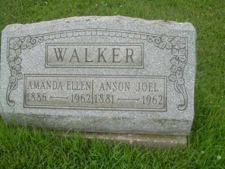 WALKER, AMANDA ELLEN - Harrison County, Ohio | AMANDA ELLEN WALKER - Ohio Gravestone Photos