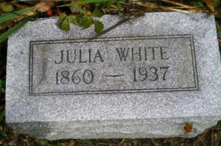 MERRYMAN WHITE, JULIA ANN - Harrison County, Ohio | JULIA ANN MERRYMAN WHITE - Ohio Gravestone Photos