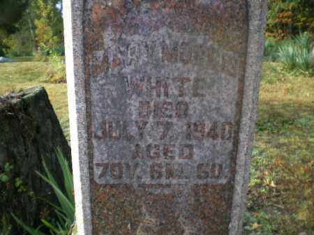 WHITE, MARY - Harrison County, Ohio | MARY WHITE - Ohio Gravestone Photos