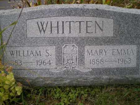 WHITTEN, WILLIAM S - Harrison County, Ohio | WILLIAM S WHITTEN - Ohio Gravestone Photos