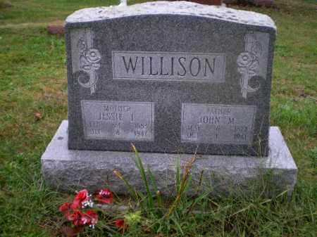 WILLISON, JESSIE FLORENCE - Harrison County, Ohio | JESSIE FLORENCE WILLISON - Ohio Gravestone Photos