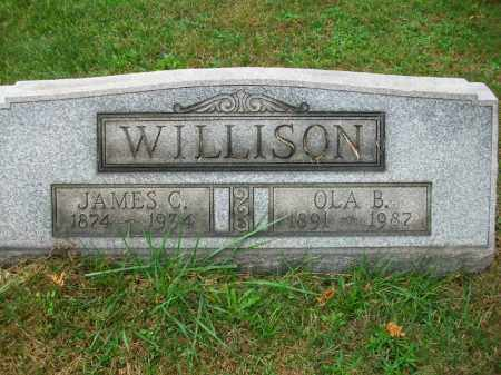 STEWART WILLISON, OLA B - Harrison County, Ohio | OLA B STEWART WILLISON - Ohio Gravestone Photos