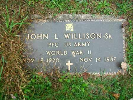 WILLISON, JOHN L SR. - Harrison County, Ohio | JOHN L SR. WILLISON - Ohio Gravestone Photos