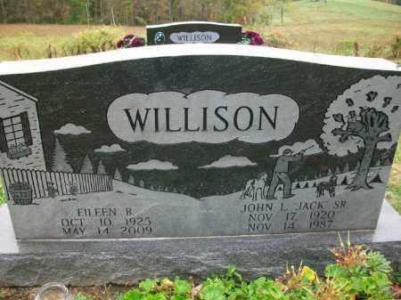 "WILLISON, JOHN L ""JACK"" SR. - Harrison County, Ohio | JOHN L ""JACK"" SR. WILLISON - Ohio Gravestone Photos"
