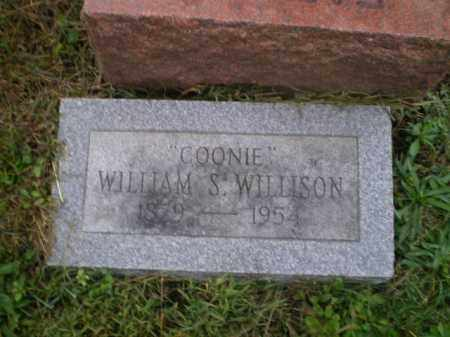 "WILLISON, WILLIAM SHIRLEY ""COONIE"" - Harrison County, Ohio 