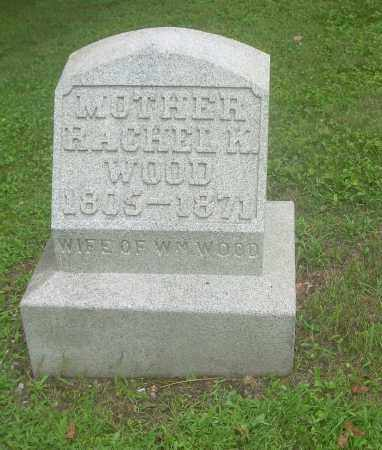 WOOD, RACHEL K - Harrison County, Ohio | RACHEL K WOOD - Ohio Gravestone Photos