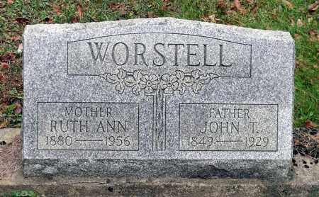 WORSTELL, JOHN T. - Harrison County, Ohio | JOHN T. WORSTELL - Ohio Gravestone Photos