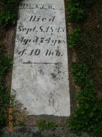 WORTMAN, JACOB - Harrison County, Ohio   JACOB WORTMAN - Ohio Gravestone Photos
