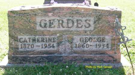JOHNSTON GERDES, CATHERINE BELLE - Henry County, Ohio | CATHERINE BELLE JOHNSTON GERDES - Ohio Gravestone Photos