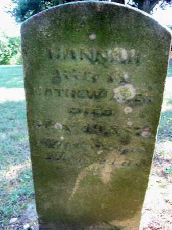 KENLEY ABER, HANNAH - Highland County, Ohio | HANNAH KENLEY ABER - Ohio Gravestone Photos