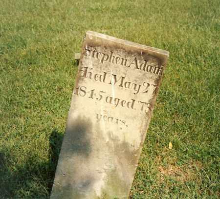 ADAMS, STEPHEN - Highland County, Ohio | STEPHEN ADAMS - Ohio Gravestone Photos