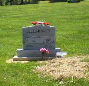 ALBRIGHT, JOYCE L. - Highland County, Ohio | JOYCE L. ALBRIGHT - Ohio Gravestone Photos