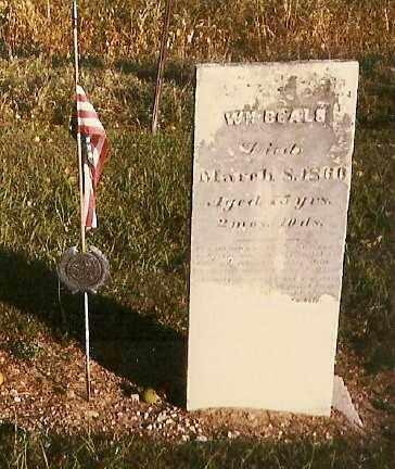 BEALS, WILLIAM - Highland County, Ohio | WILLIAM BEALS - Ohio Gravestone Photos