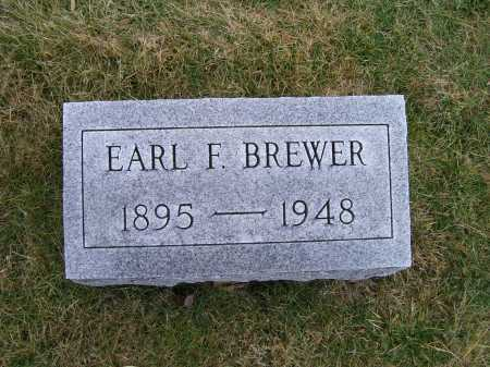 BREWER, EARL F. - Highland County, Ohio | EARL F. BREWER - Ohio Gravestone Photos