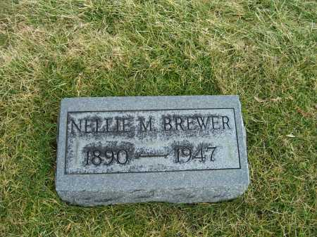 BREWER, NELLIE M. - Highland County, Ohio | NELLIE M. BREWER - Ohio Gravestone Photos