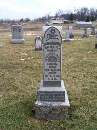 BUNN, ANNA E. - Highland County, Ohio | ANNA E. BUNN - Ohio Gravestone Photos