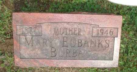BURBA, MARY - Highland County, Ohio | MARY BURBA - Ohio Gravestone Photos
