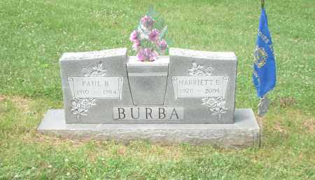 BURBA, HARRIETT - Highland County, Ohio | HARRIETT BURBA - Ohio Gravestone Photos