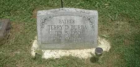 BURBA, TERRY - Highland County, Ohio | TERRY BURBA - Ohio Gravestone Photos