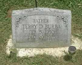 DEAN BURBA, TERRY - Highland County, Ohio | TERRY DEAN BURBA - Ohio Gravestone Photos