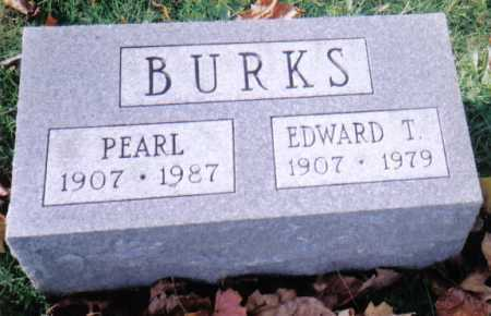 BURKS, PEARL - Highland County, Ohio | PEARL BURKS - Ohio Gravestone Photos