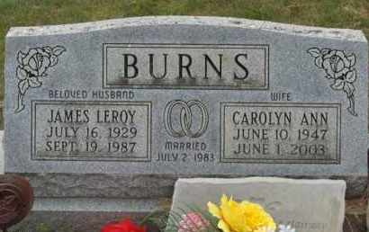BURNS, JAMES LEROY - Highland County, Ohio | JAMES LEROY BURNS - Ohio Gravestone Photos