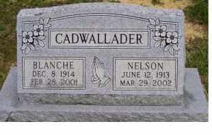CADWALLADER, BLANCHE - Highland County, Ohio | BLANCHE CADWALLADER - Ohio Gravestone Photos