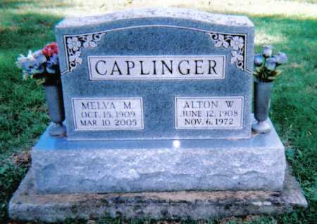 CAPLINGER, MELVA M. - Highland County, Ohio | MELVA M. CAPLINGER - Ohio Gravestone Photos
