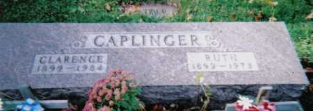 CAPLINGER, RUTH - Highland County, Ohio | RUTH CAPLINGER - Ohio Gravestone Photos