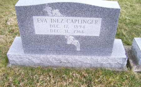 CAPLINGER, EVA INEZ - Highland County, Ohio | EVA INEZ CAPLINGER - Ohio Gravestone Photos
