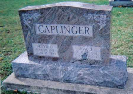 CAPLINGER, EVA J. - Highland County, Ohio | EVA J. CAPLINGER - Ohio Gravestone Photos