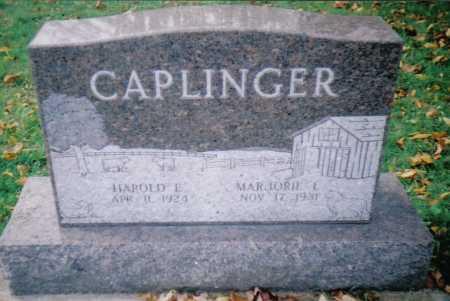 CAPLINGER, MARJORIE L. - Highland County, Ohio | MARJORIE L. CAPLINGER - Ohio Gravestone Photos