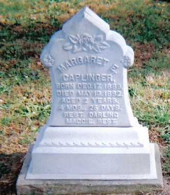 CAPLINGER, MARGARET E. - Highland County, Ohio | MARGARET E. CAPLINGER - Ohio Gravestone Photos