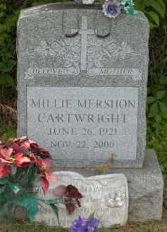 MERSHON CARTWRIGHT, MILLIE - Highland County, Ohio | MILLIE MERSHON CARTWRIGHT - Ohio Gravestone Photos