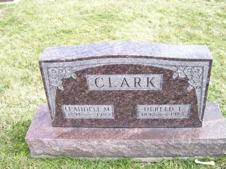 CLARK, LEAHDELL M. - Highland County, Ohio | LEAHDELL M. CLARK - Ohio Gravestone Photos