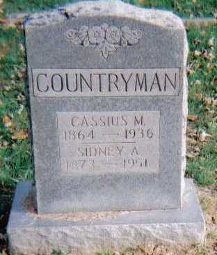 COUNTRYMAN, SIDNEY A. - Highland County, Ohio | SIDNEY A. COUNTRYMAN - Ohio Gravestone Photos