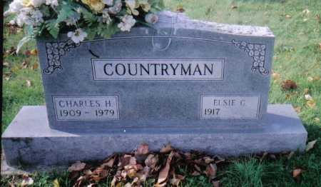 COUNTRYMAN, CHARLES H. - Highland County, Ohio | CHARLES H. COUNTRYMAN - Ohio Gravestone Photos