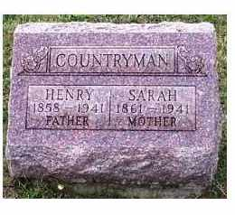 COUNTRYMAN, SARAH - Highland County, Ohio | SARAH COUNTRYMAN - Ohio Gravestone Photos